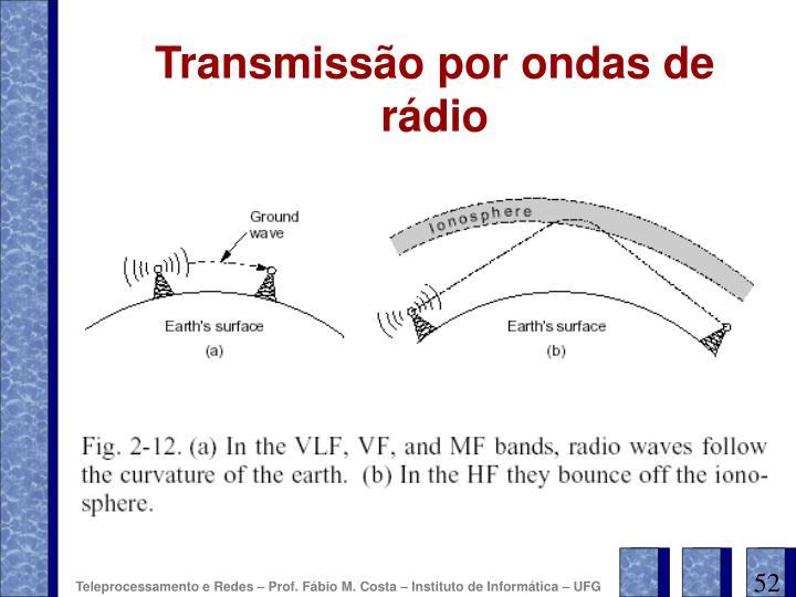 Transmissão por ondas de rádio