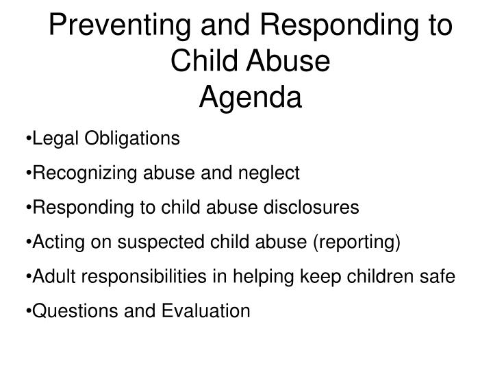 preventing child abuse and neglect Prevention is the best way to reduce child abuse and neglect and improve the  lives of children and families mdcps administers several programs dedicated to .