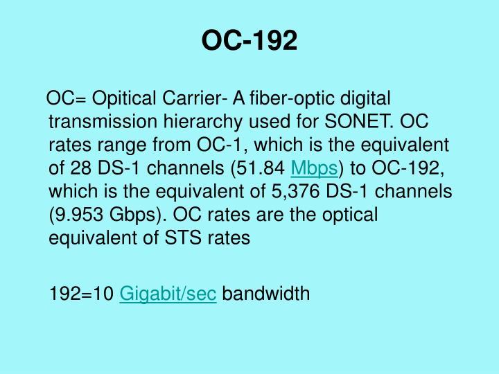 OC-192