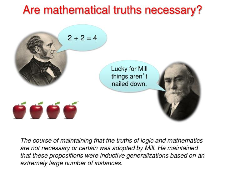 Are mathematical truths necessary?