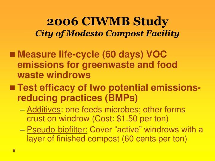 2006 CIWMB Study