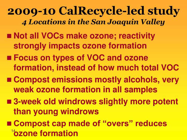 2009-10 CalRecycle-led study