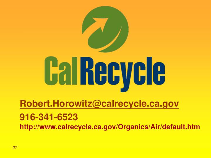 Robert.Horowitz@calrecycle.ca.gov