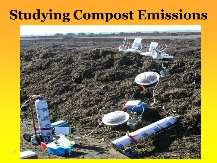 Studying Compost Emissions