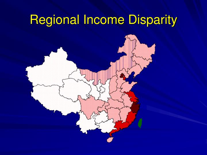 Regional Income Disparity