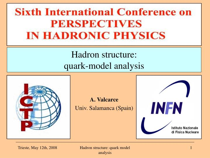 Hadron structure:
