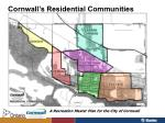 cornwall s residential communities