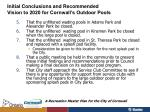 initial conclusions and recommended vision to 2020 for cornwall s outdoor pools1