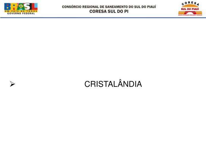 CRISTALÂNDIA