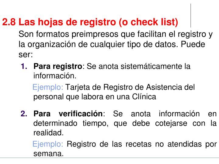 Para registro