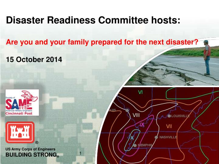 Disaster Readiness Committee hosts: