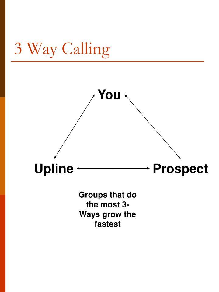 3 Way Calling