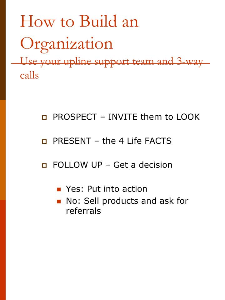 How to Build an Organization