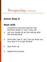 prospecting continued1