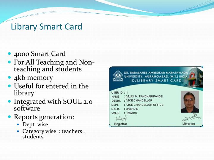 Library Smart Card