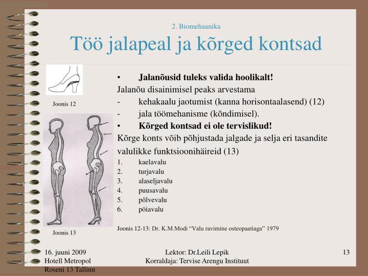 2. Biomehaanika