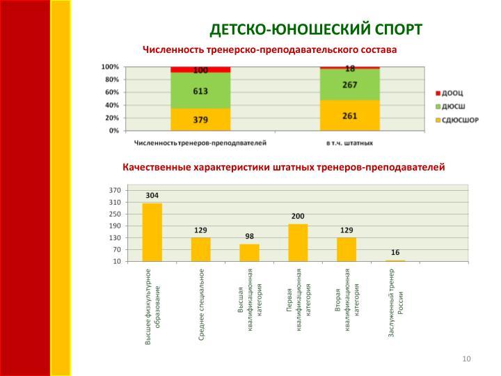 ДЕТСКО-ЮНОШЕСКИЙ СПОРТ