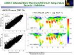 amsr2 extended daily maximum minimum temperature records validation