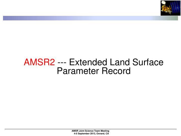 AMSR2