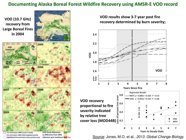 Documenting Alaska Boreal Forest Wildfire Recovery using