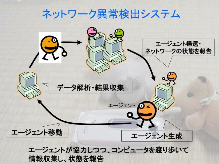ネットワーク異常検出システム