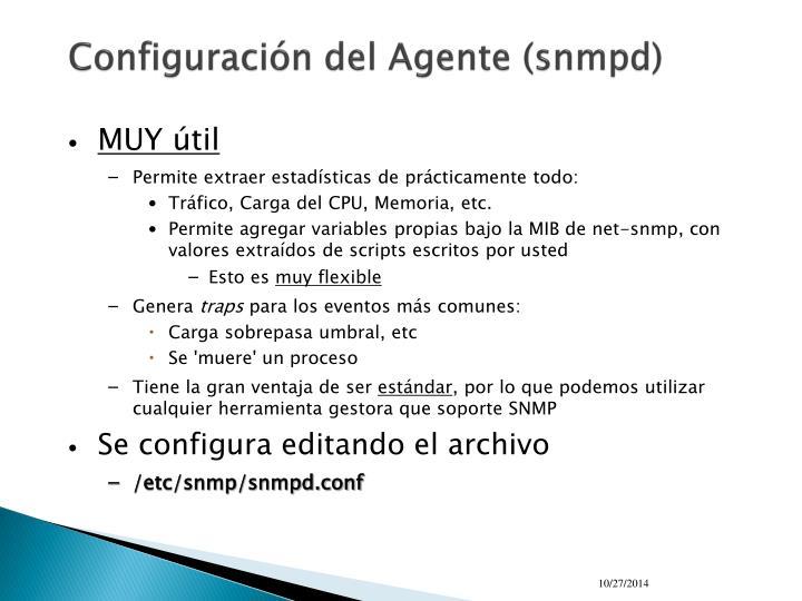 Configuración del Agente (