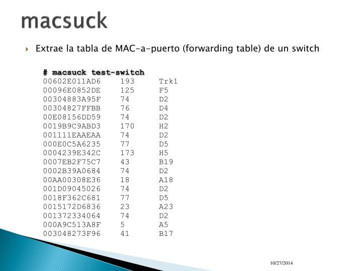 macsuck