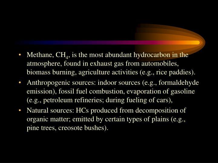 Methane, CH