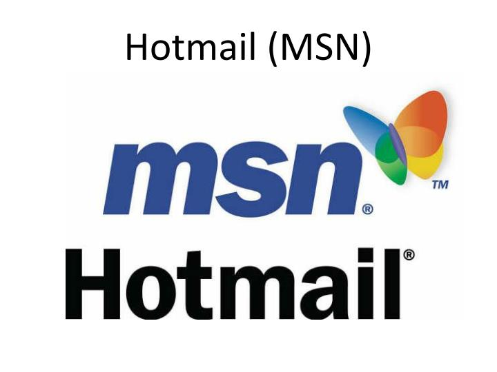 Hotmail (MSN)