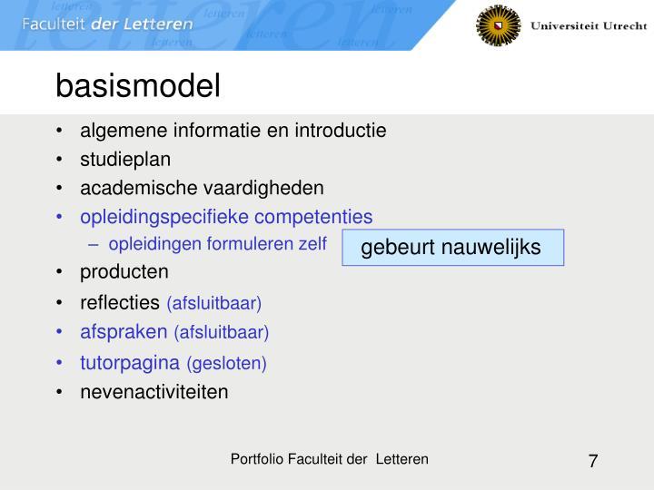 basismodel