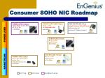 consumer soho nic roadmap