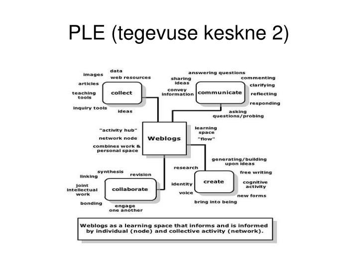 PLE (tegevuse keskne 2)