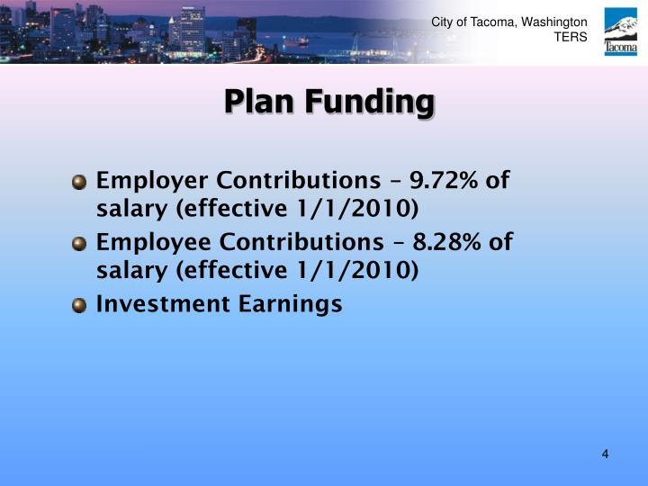 Plan Funding