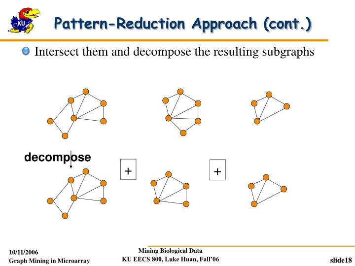 Pattern-Reduction Approach (cont.)