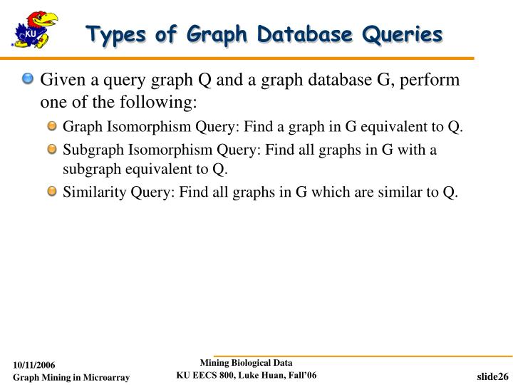 Types of Graph Database Queries
