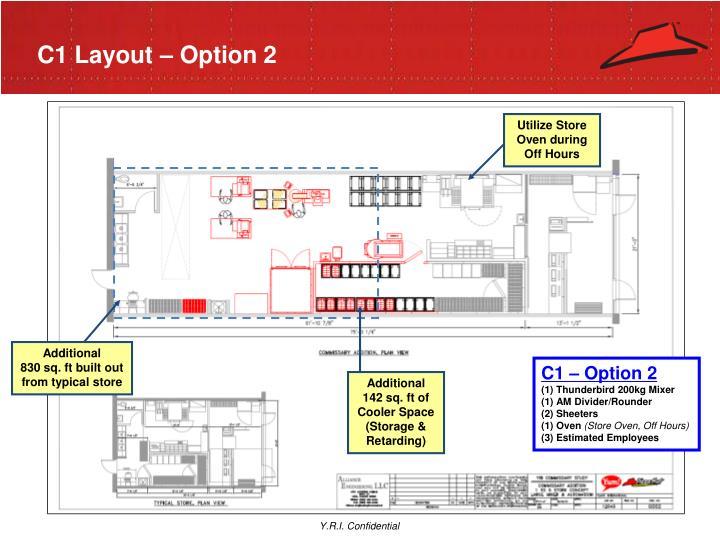 C1 Layout – Option 2