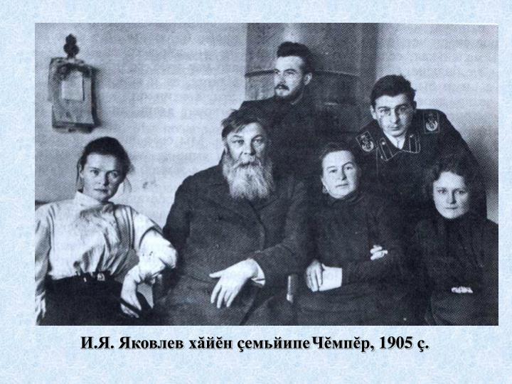 И.Я. Яковлев х