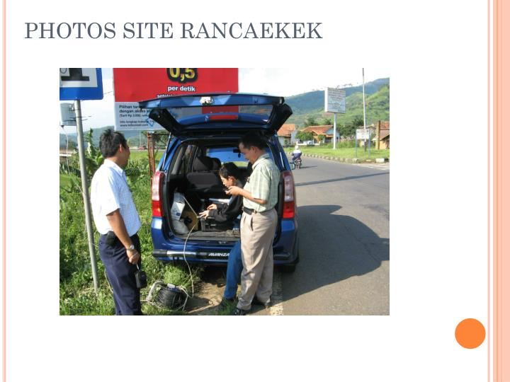 PHOTOS SITE RANCAEKEK