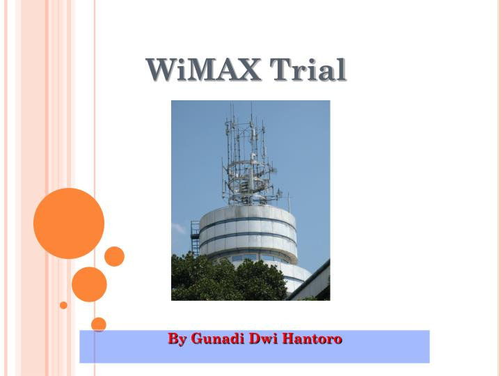 Wimax trial