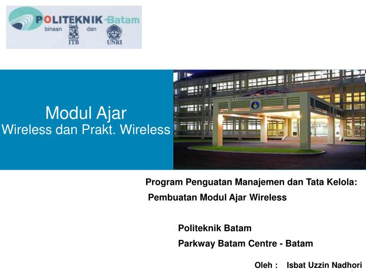 modul ajar wireless dan prakt wireless