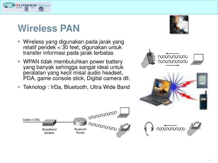 Wireless PAN