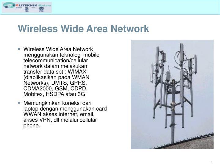 Wireless Wide Area Network