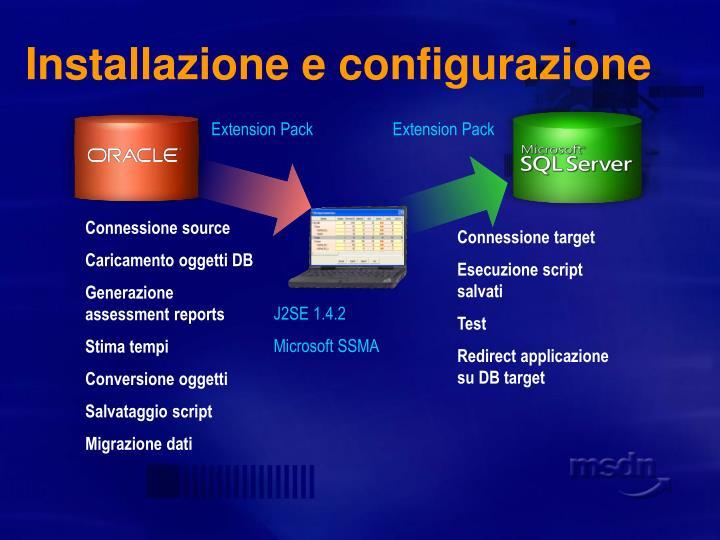 Installazione e configurazione