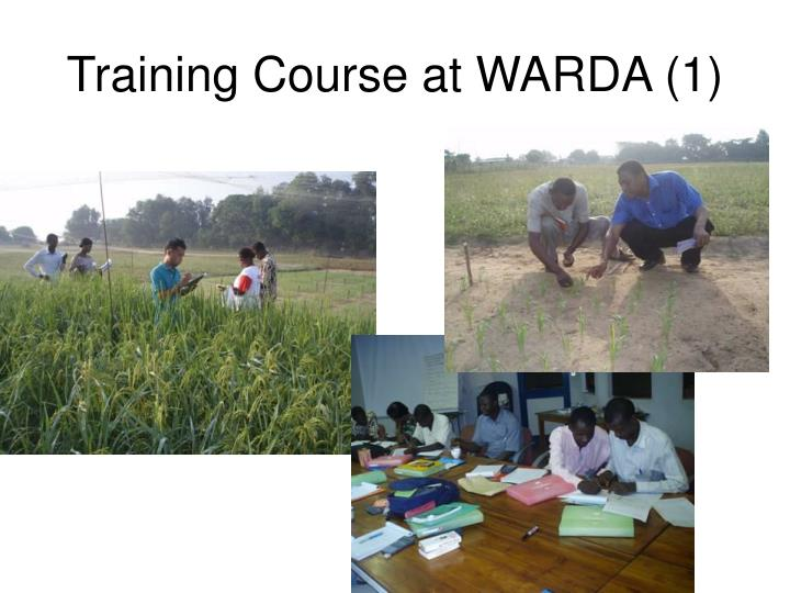 Training Course at WARDA (1)