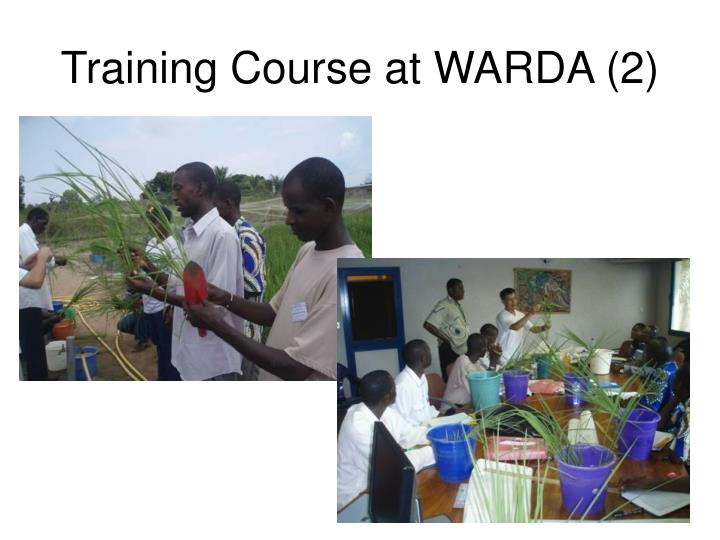 Training Course at WARDA (2)