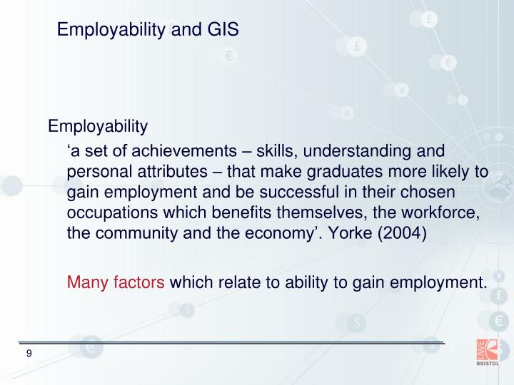 Employability and