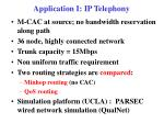 application i ip telephony