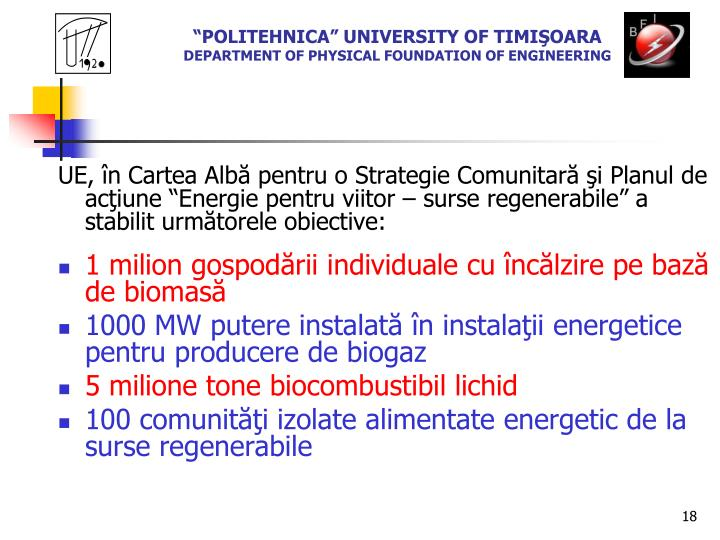 """POLITEHNICA"" UNIVERSITY OF TIMI"