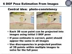 6 dof pose estimation from images1