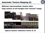 automatic texture mapping 2